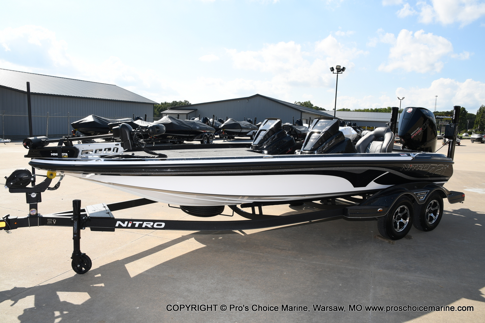 2021 Nitro boat for sale, model of the boat is Z21 Pro Package DUAL CONSOLE & Image # 19 of 50