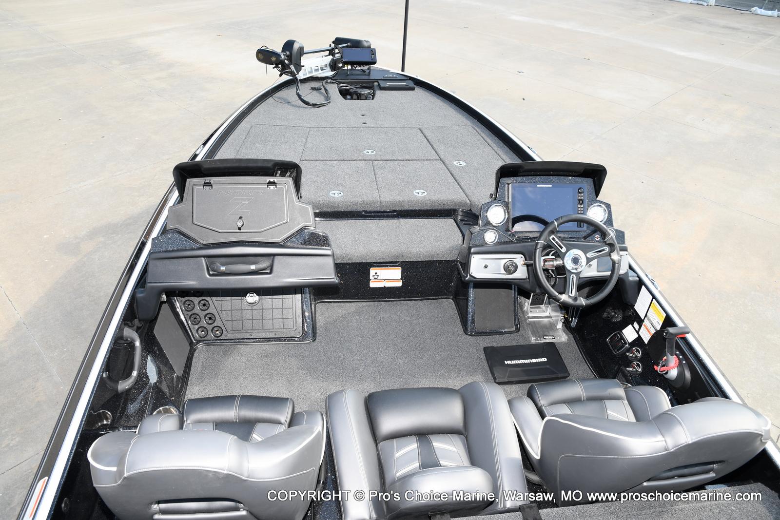 2021 Nitro boat for sale, model of the boat is Z21 Pro Package DUAL CONSOLE & Image # 26 of 50