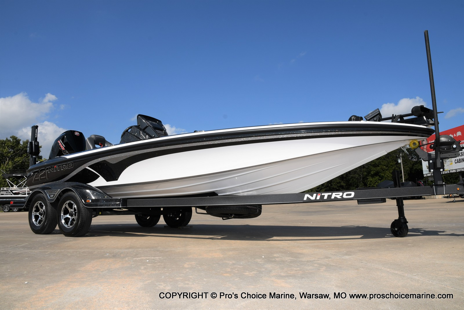 2021 Nitro boat for sale, model of the boat is Z21 Pro Package DUAL CONSOLE & Image # 45 of 50