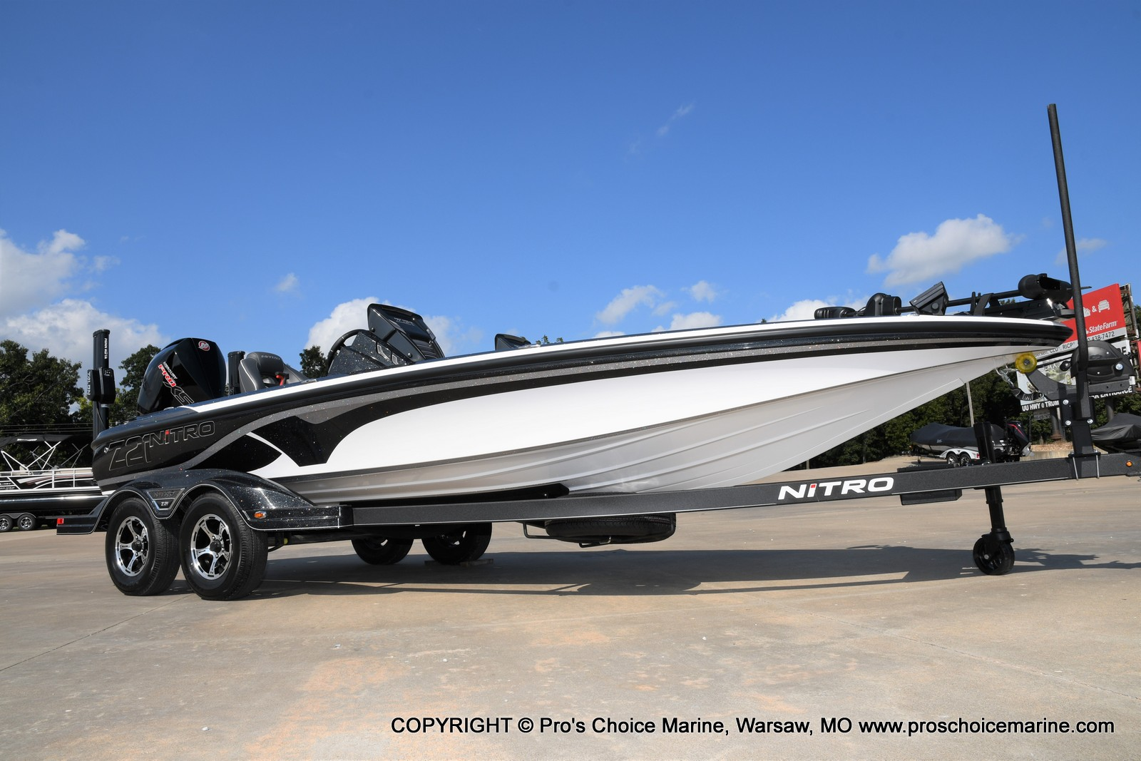 2021 Nitro boat for sale, model of the boat is Z21 Pro Package DUAL CONSOLE & Image # 34 of 50