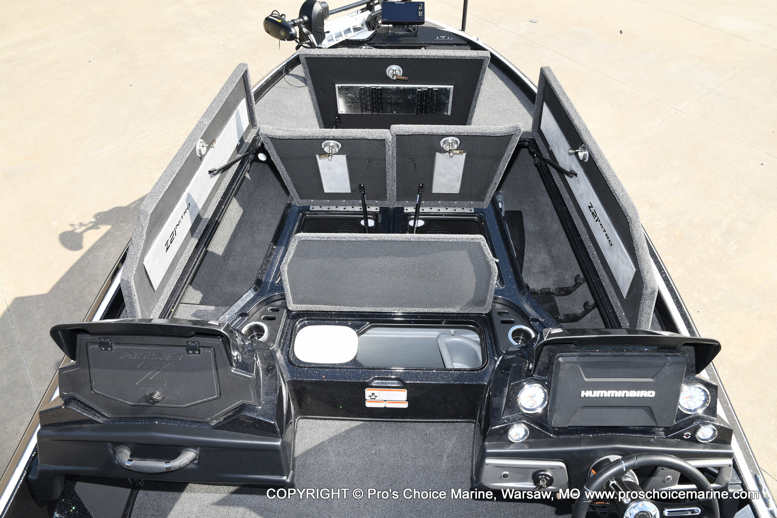 2021 Nitro boat for sale, model of the boat is Z21 Pro Package DUAL CONSOLE & Image # 40 of 50