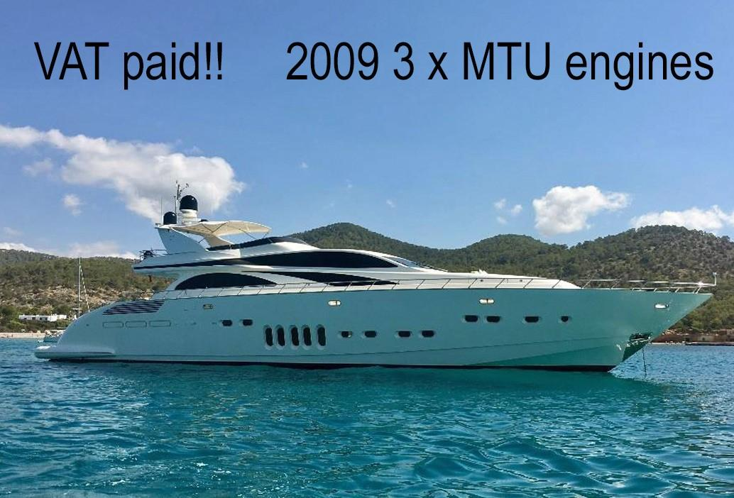 106 Leopard 2006 Olbia Denison Yacht Sales