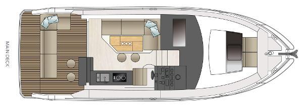 Sealine C330 deck layout