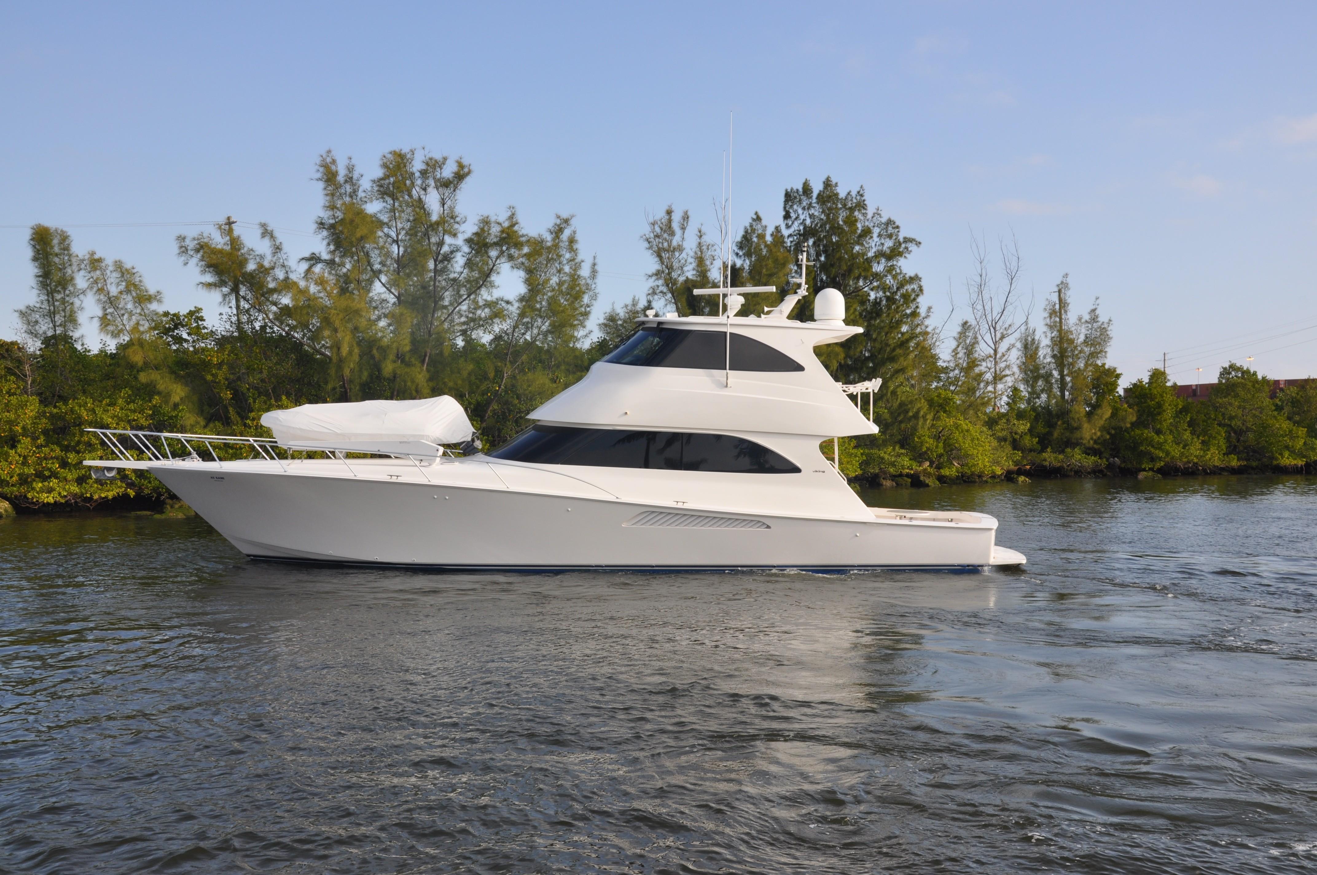 2012 Viking Yachts 60' Enclosed Bridge