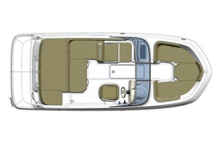 2019 Bayliner boat for sale, model of the boat is VR5 Bowrider & Image # 7 of 34