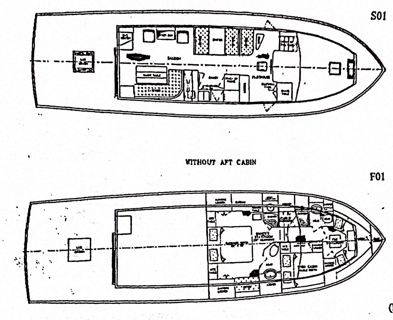 Da Tiki Mon Grand Banks 52 Yachts For Sale Jabsco Spotlight Wiring Diagram Line Drawing