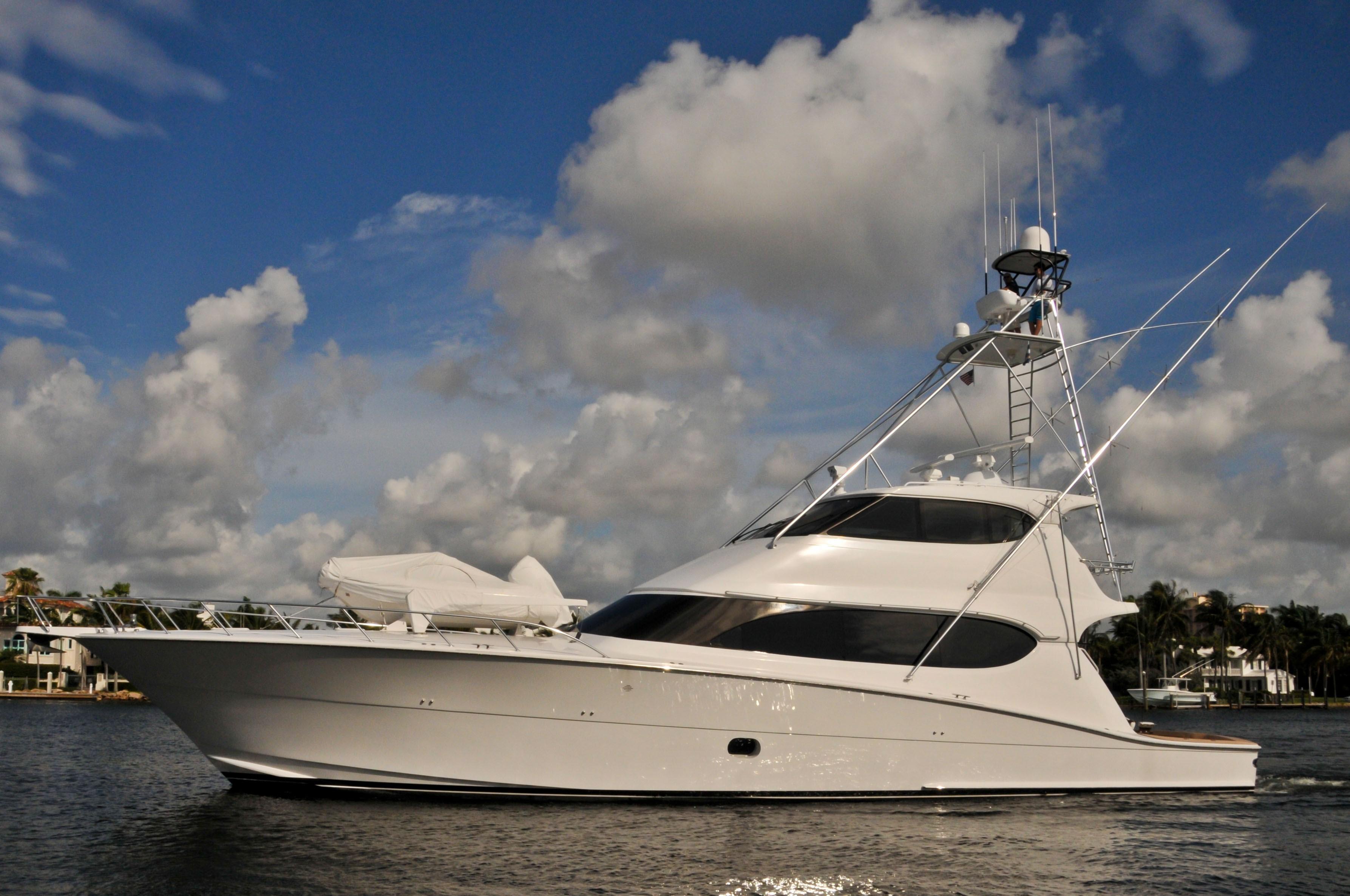 77 ft Hatteras 77′ EB Sportfish