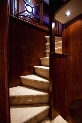 Stairs to Lower Staterooms