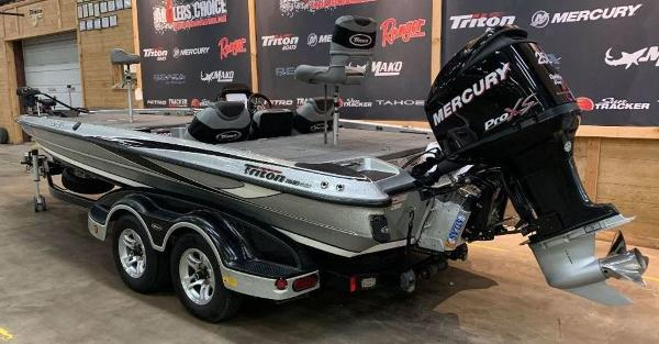 2012 Triton boat for sale, model of the boat is 21 XS & Image # 7 of 11