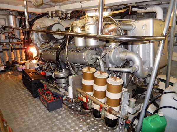 Arun 60 Engine Room