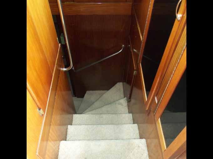 Forward Stairs from Pilothouse