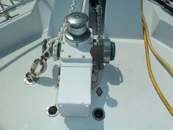 Above Deck Windlass