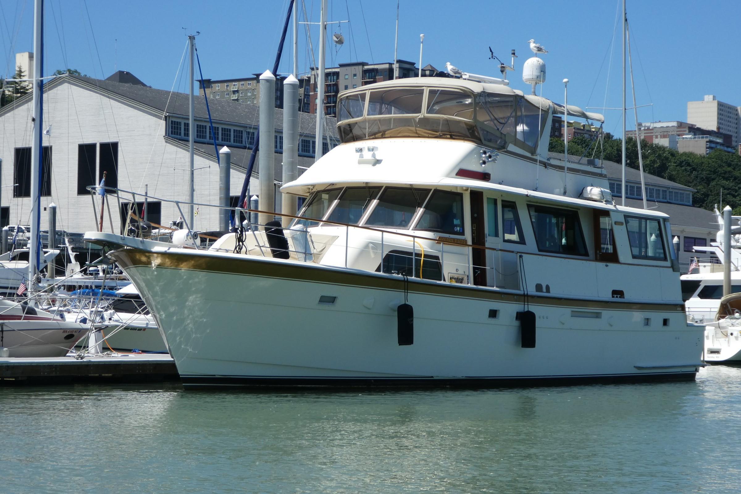 Hatteras  61' Cockpit Motor Yacht