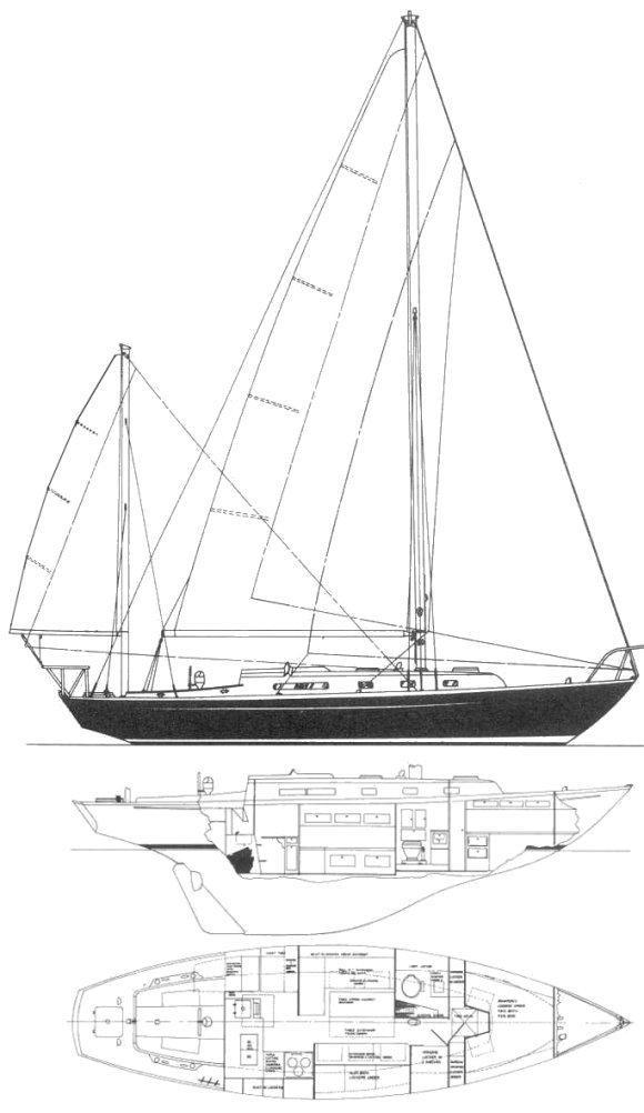 37' Alberg 1977 37