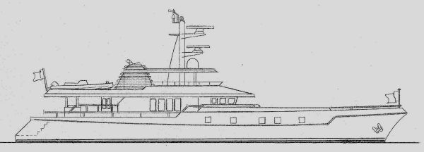 Expedition Yacht Under Conversion