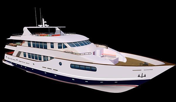 110' Custom Motor Yacht 2014 Explorer 110