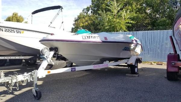 1996 Sea Doo Sportboat boat for sale, model of the boat is Challenger & Image # 1 of 3