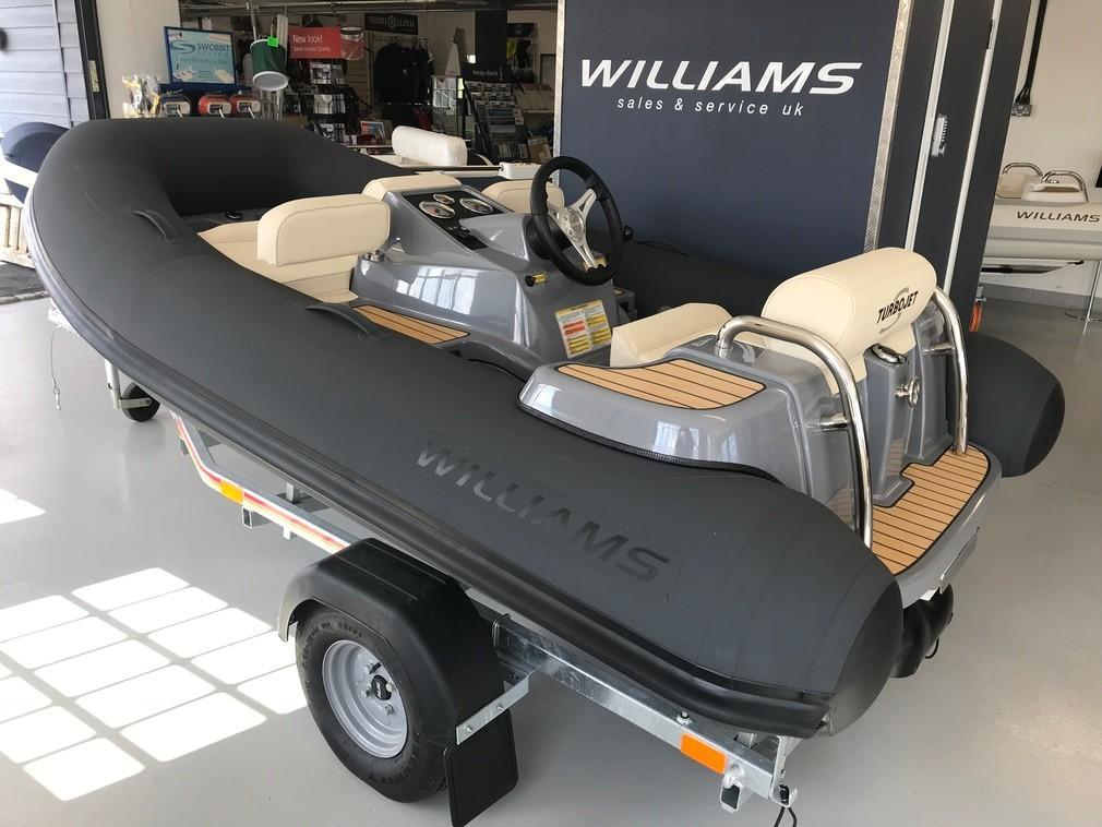 Williams Jet Tenders Turbojet 285s 100HP