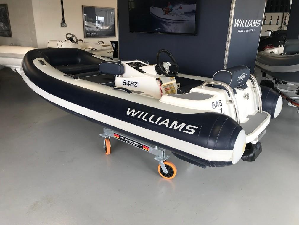 Williams Jet Tenders Turbojet 325s Sport 100HP