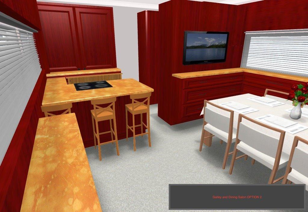 Concept Professional Rendering Of Interior, To Be Completed