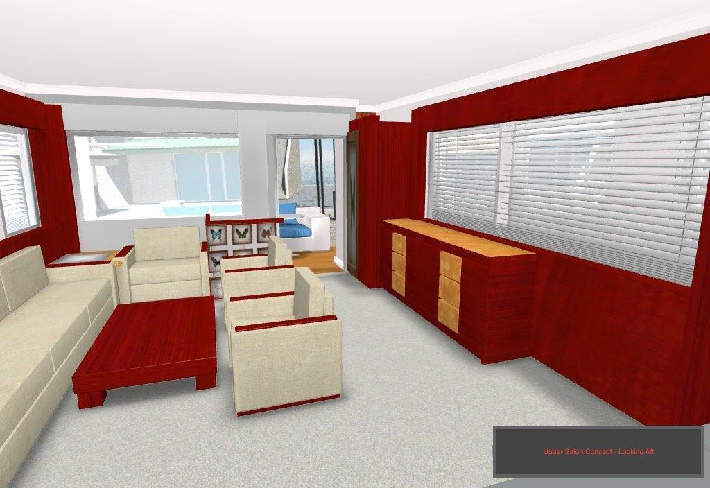 Concept Rendering Of Interior To Be Completed