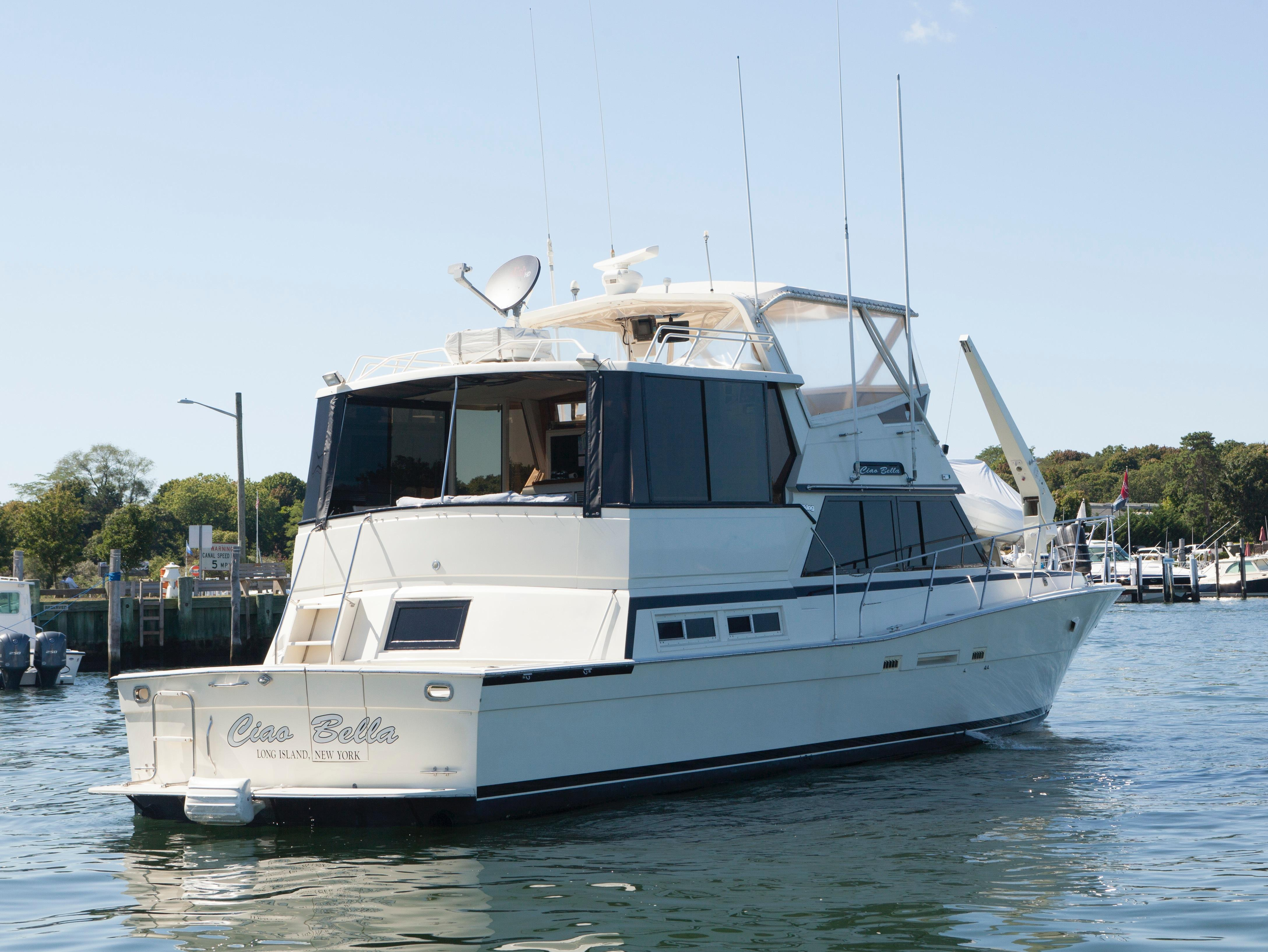 1985 viking 50 cockpit motoryacht yacht for sale in long for Fishing boats ny