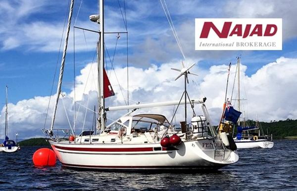 Najad 361 used boat for sale from Boat Sales International