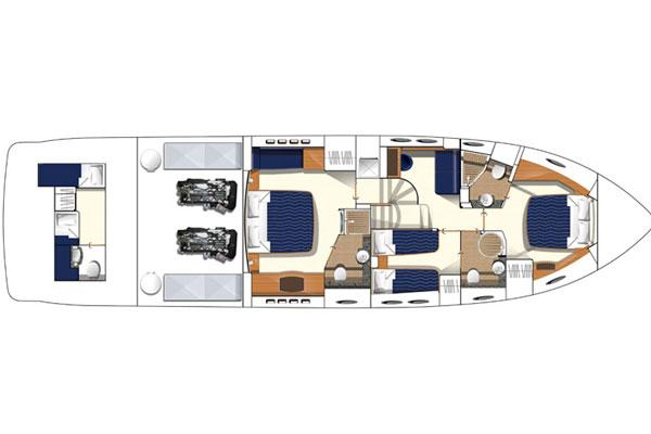 Manufacturer Provided Image: Lower Deck