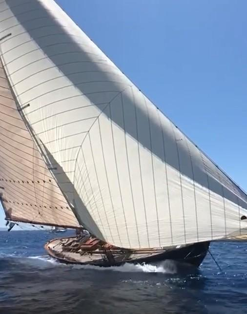 Classic Craft 50 foot Gaff Rigged Sloop