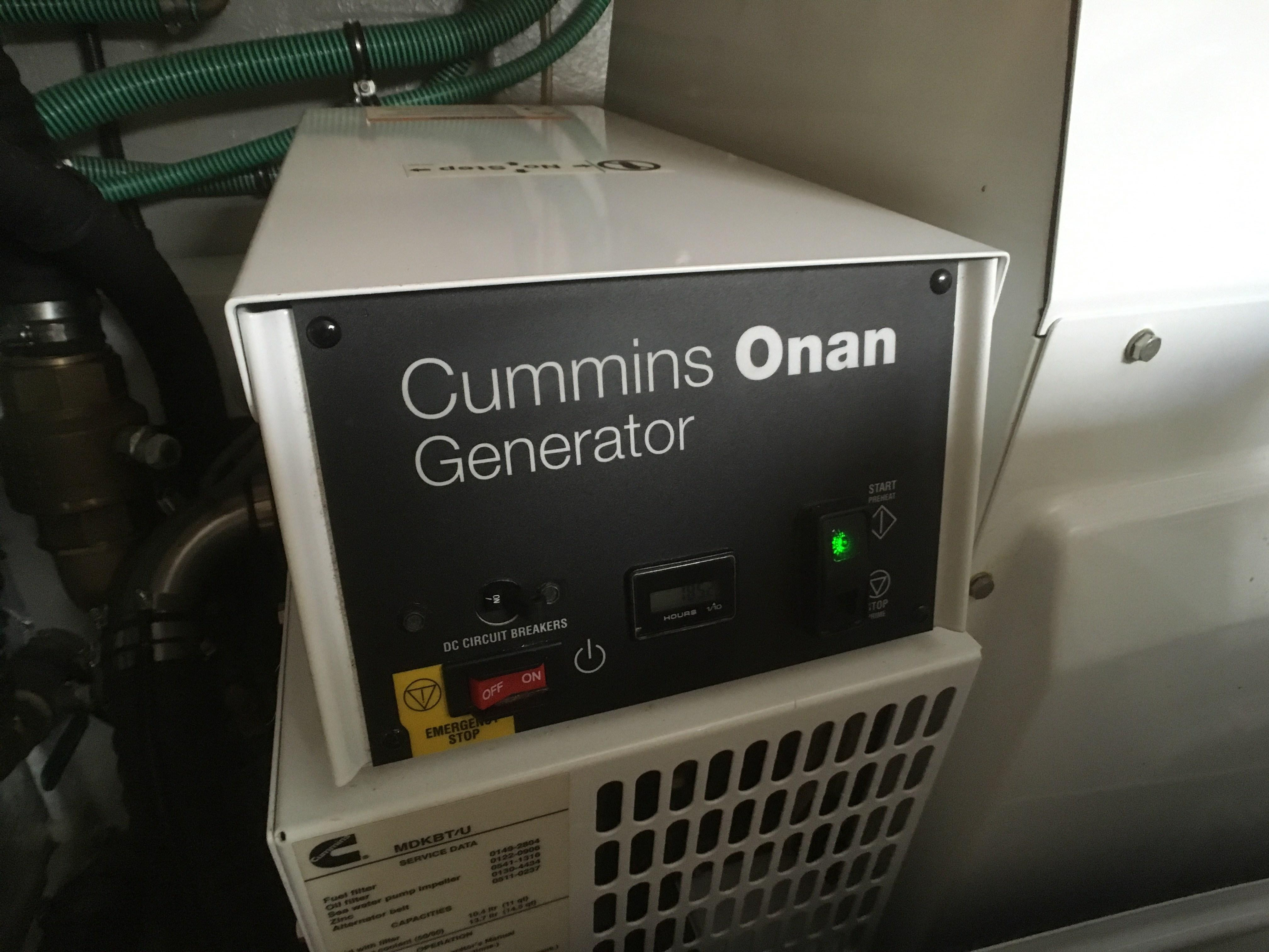 Sunseeker Manhattan 63 Generator