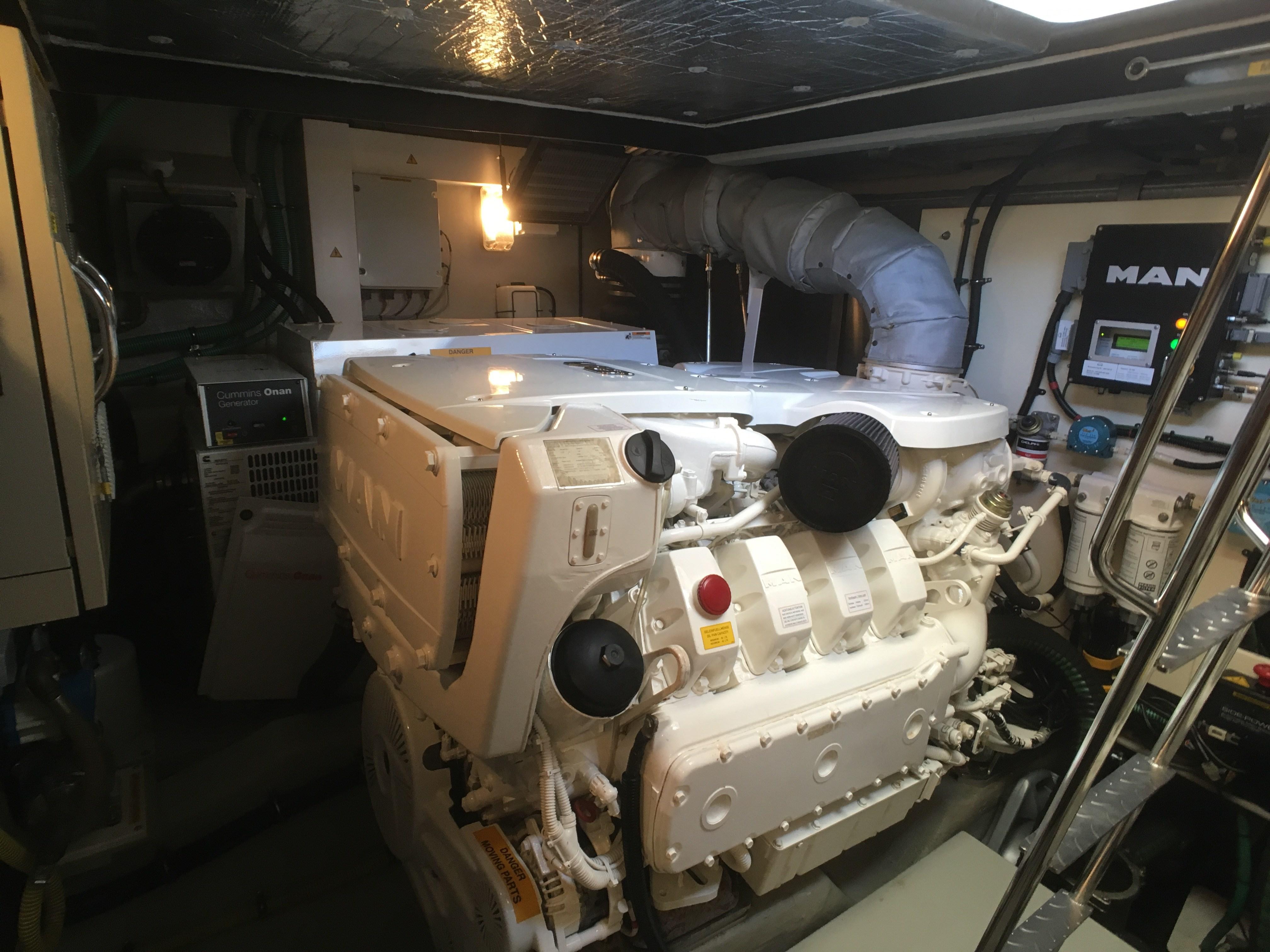 Sunseeker Manhattan 63 Engine
