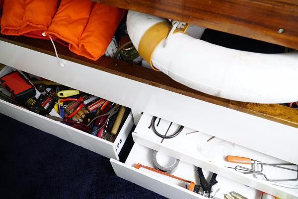 Colvic Watson 35 - Storage