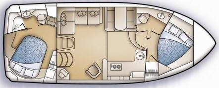 Carver 36 Motor Yacht - Manufacturer Provided Image