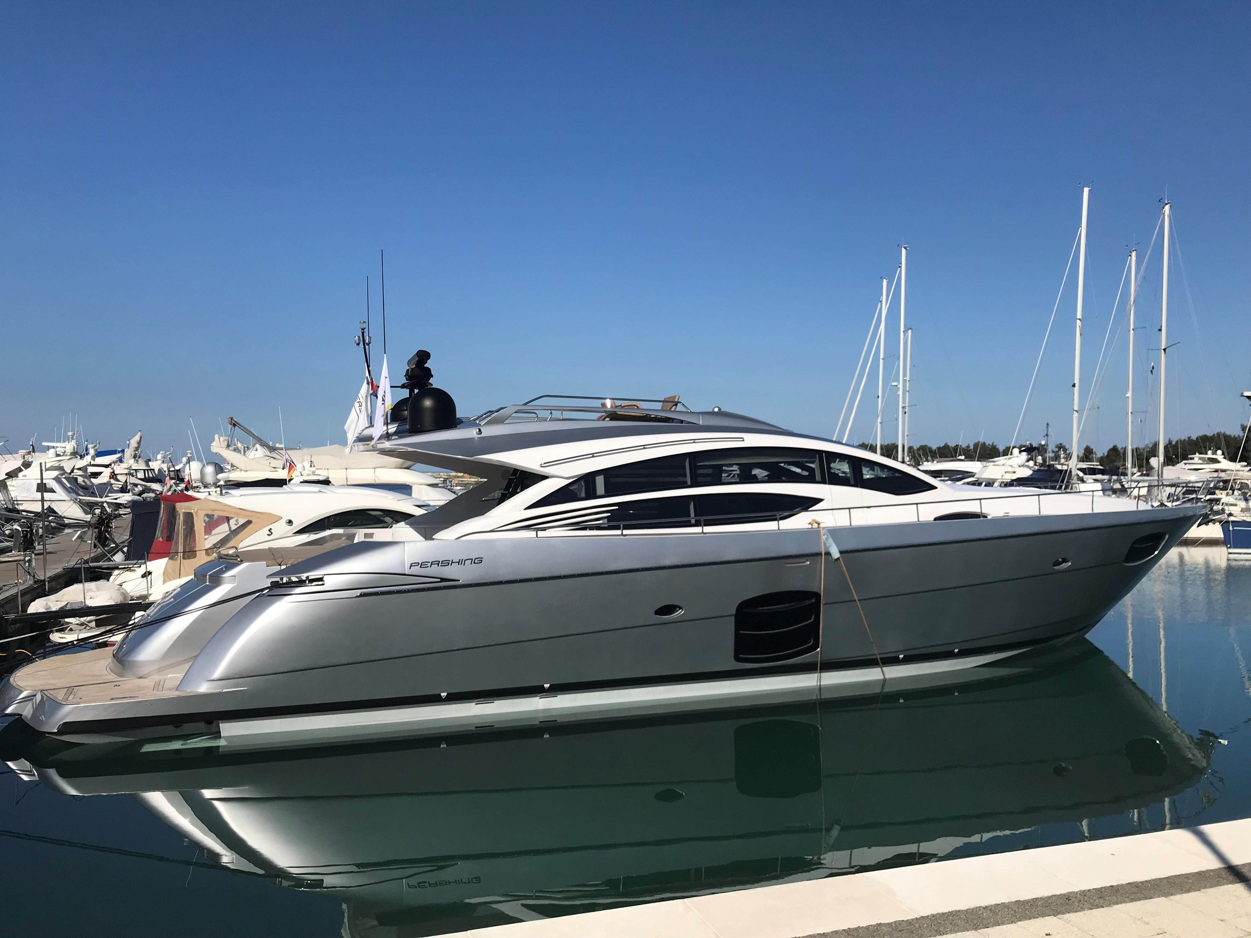 2013 74' Pershing 74 for sale - SYS Yacht Sales
