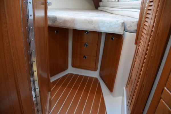 Storage in Fwd Cabin