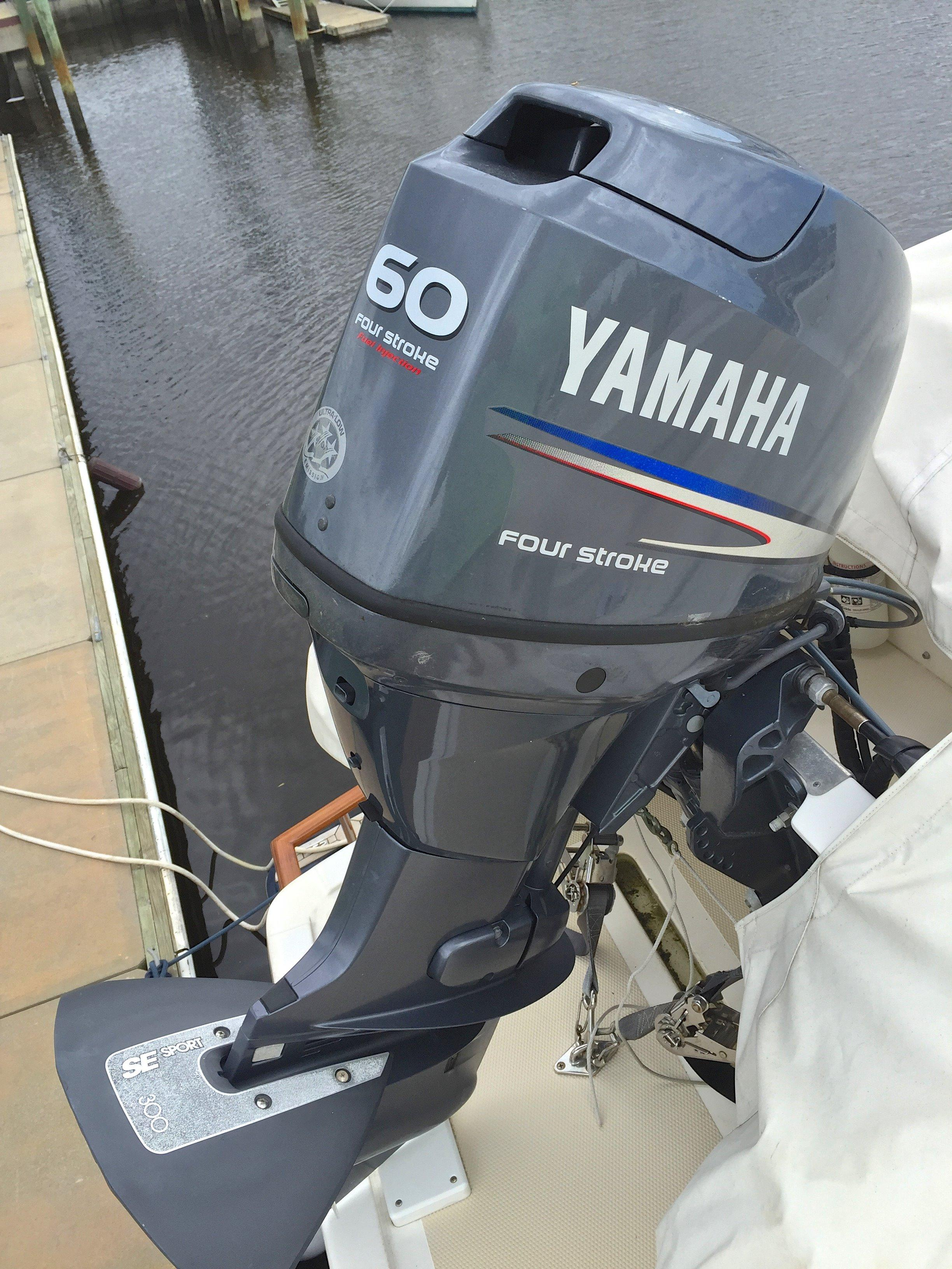 60hp Yamaha outboard