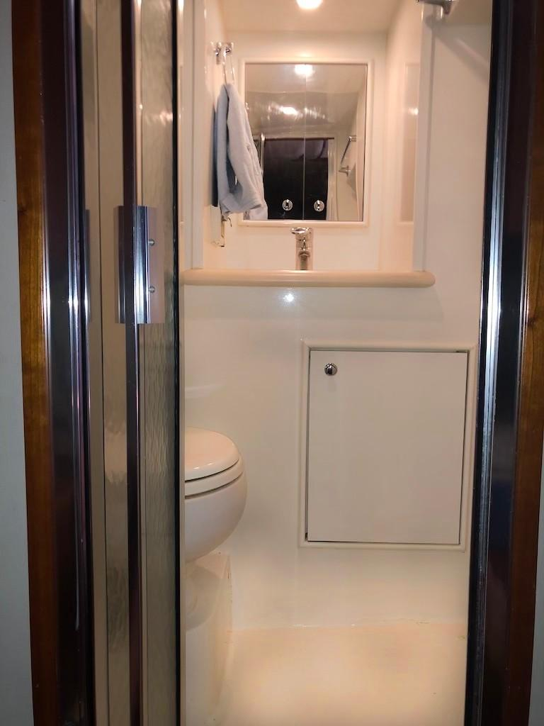 Aft Stateroom En-Suite Head and Shower