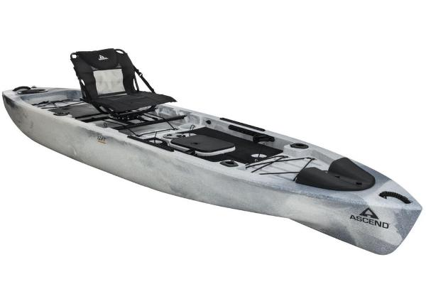 For Sale: 2020 Ascend 128t Yak-power Sit-on (white/black) 12.67ft<br/>Nobles  Marine