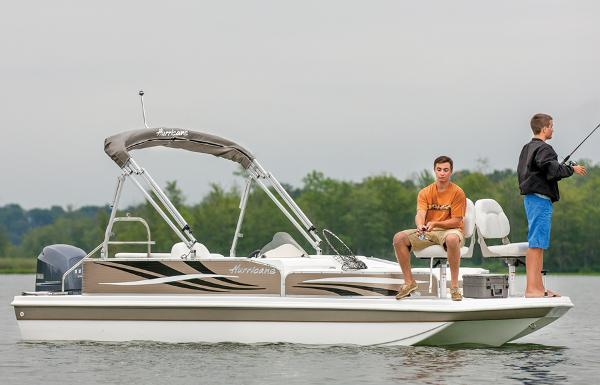 2013 HURRICANE FUNDECK 198 for sale