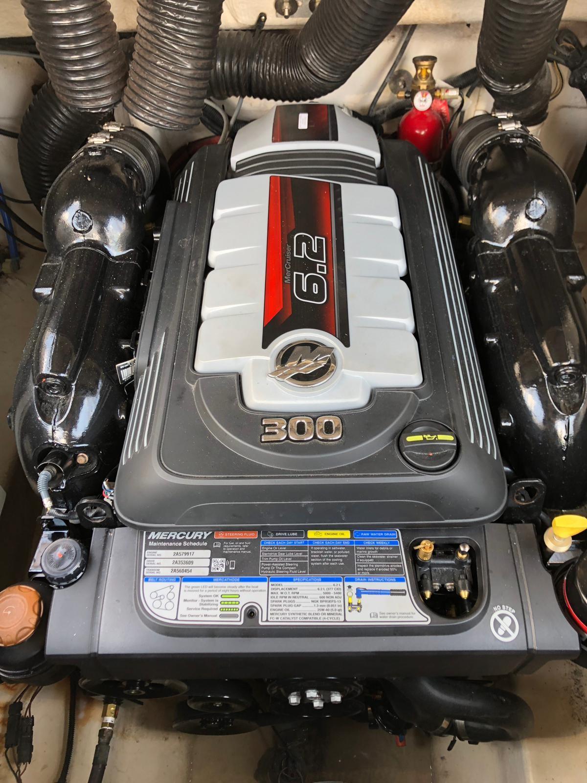 Sea Ray 240 Sundeck Engine