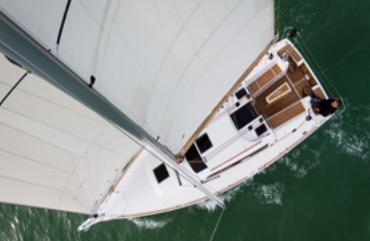 Manufacturer Provided Image: Dufour 350 Grand Large Aerial View
