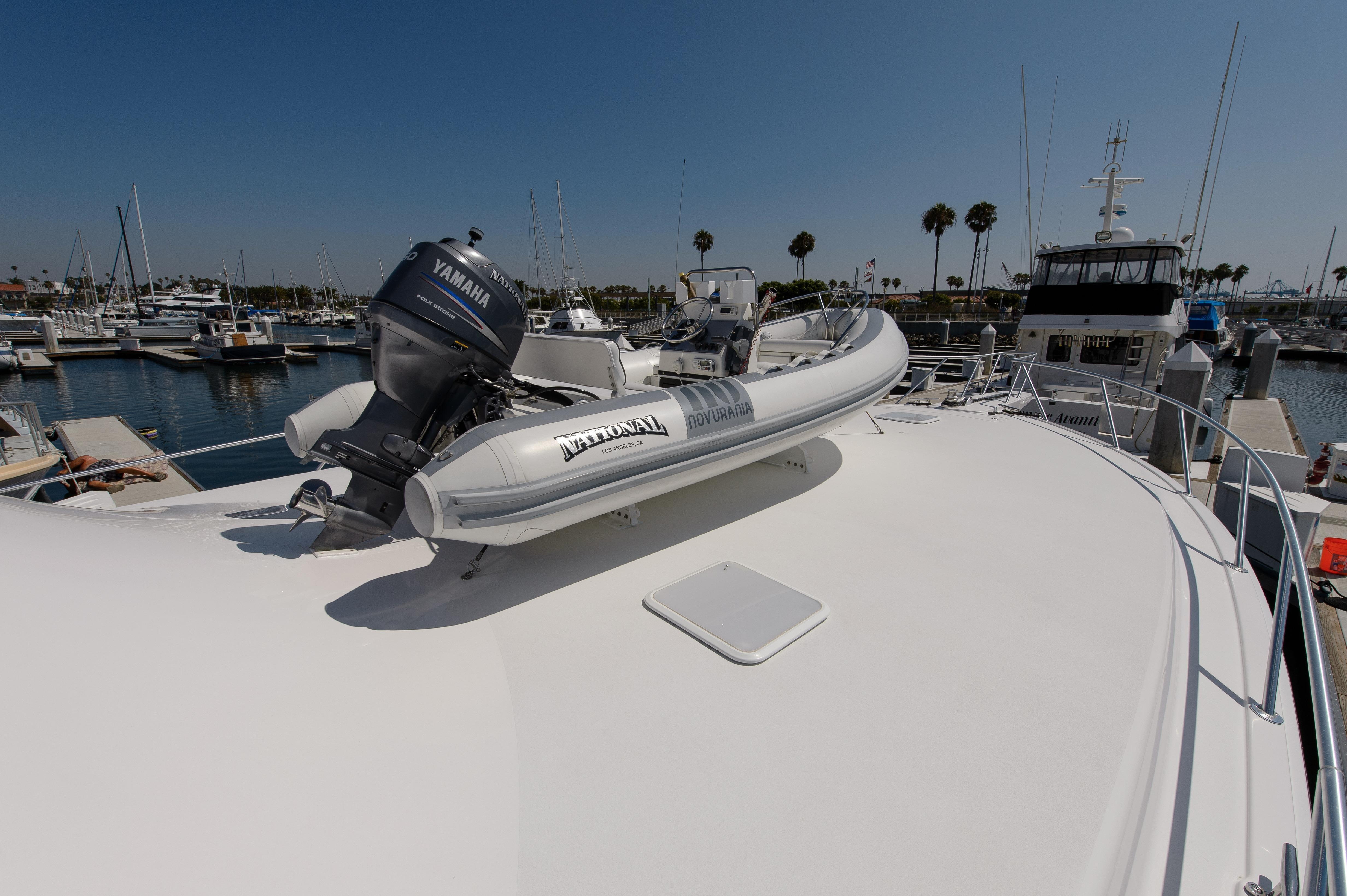 Tender On Bow With Hydraulic Davit