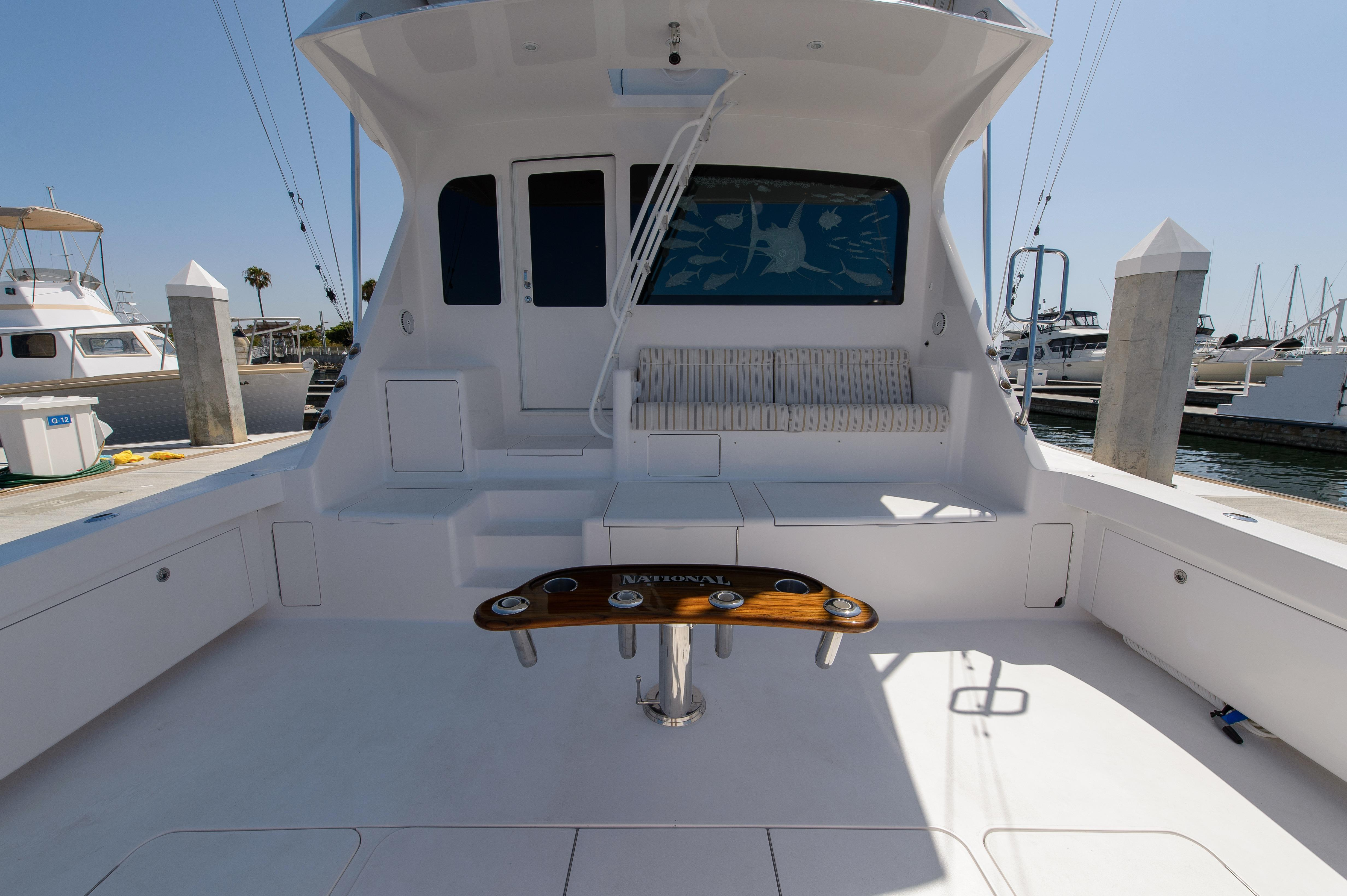 Starboard Aft Seating