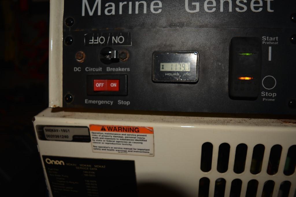 Cruisers Yachts 4050 Express - Onan Diesel Generator