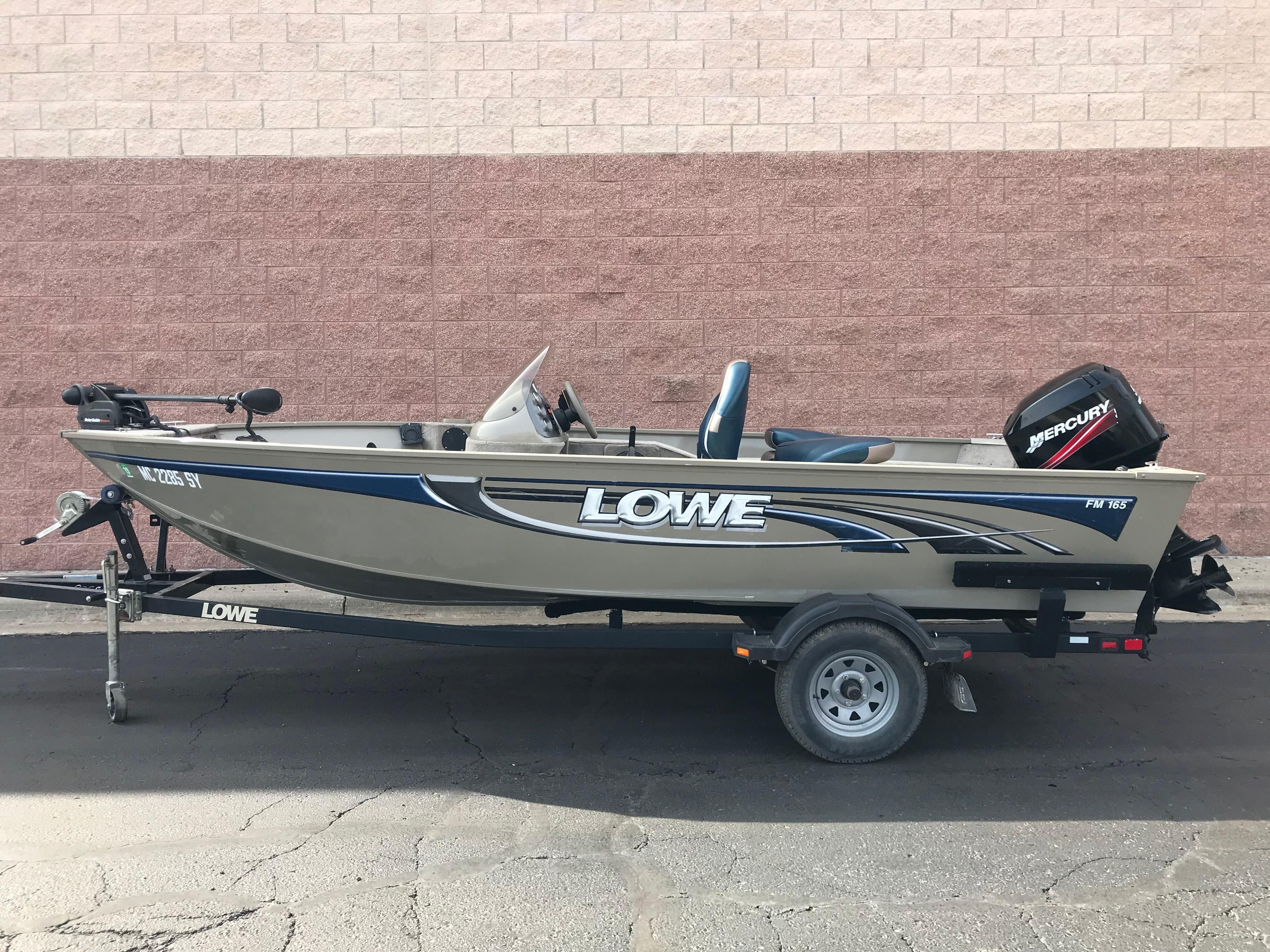 Lowe165 FISHING MACHINE