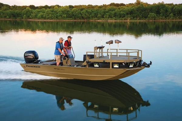 2020 Tracker Boats boat for sale, model of the boat is Grizzly 2072 CC Sportsman & Image # 9 of 51