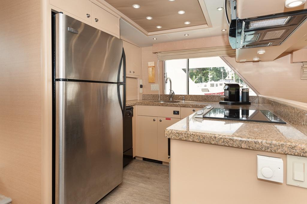 Newly remolded galley