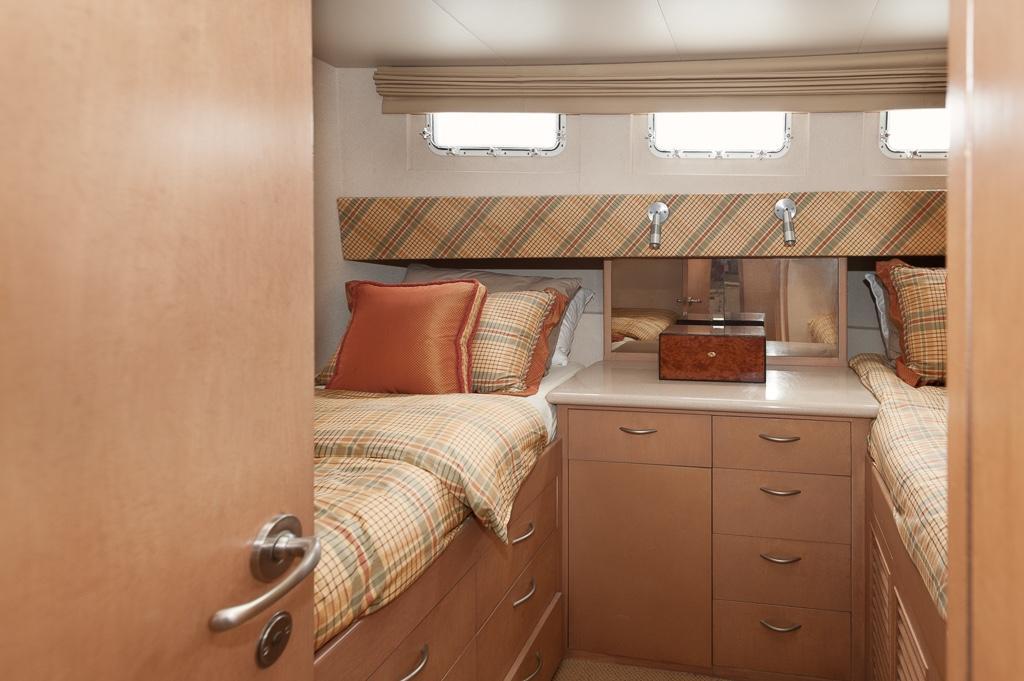Starboard side VIP cabin