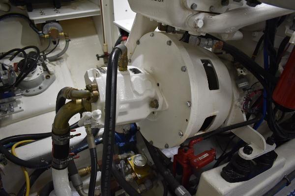 Hydraulic PTO's off each main engine
