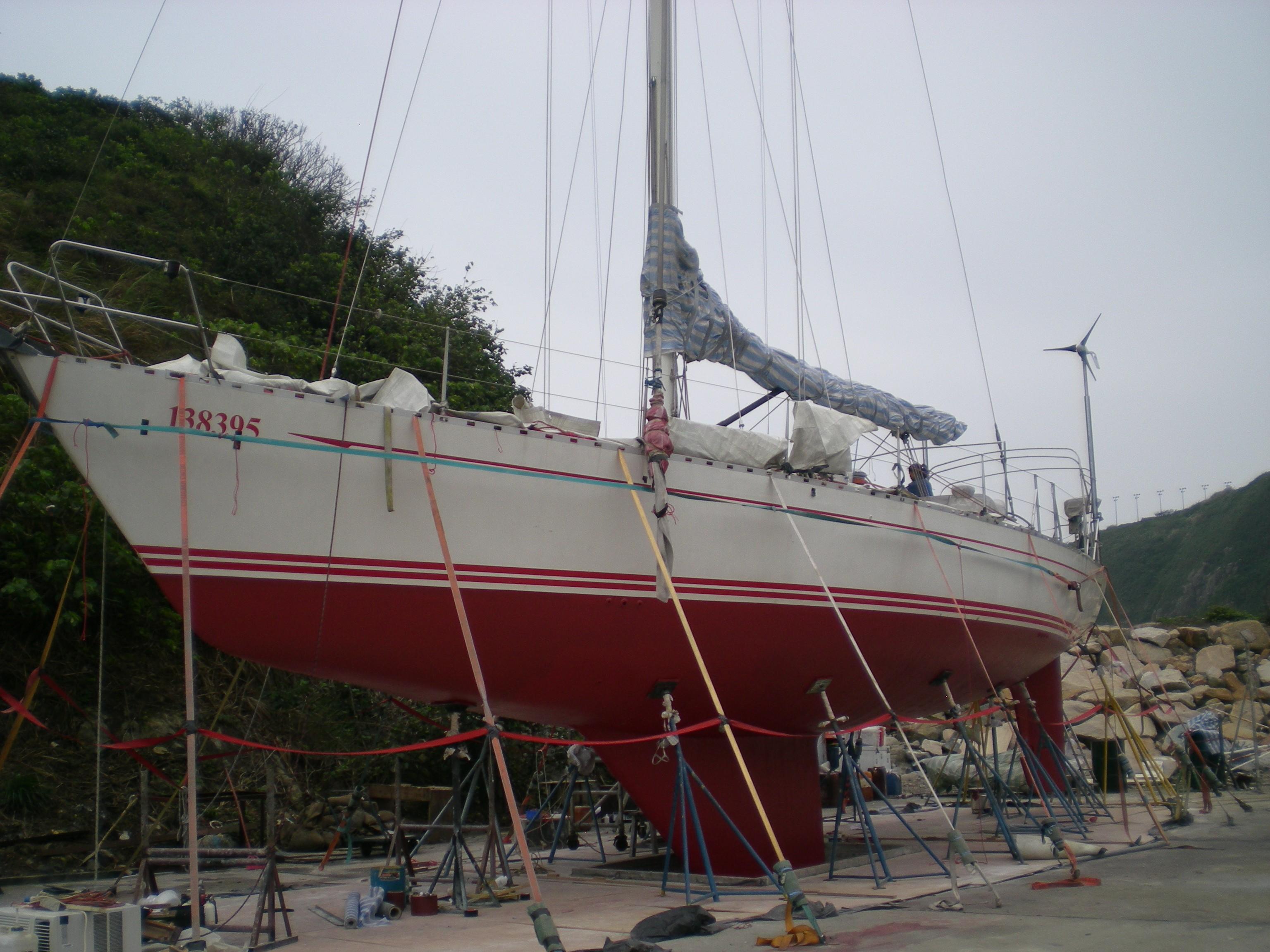 Cheoy Lee 55 -- Hull